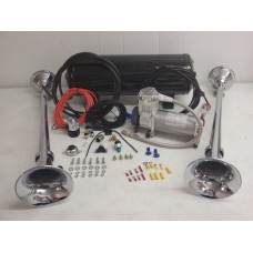 Heavy Duty Emergency Fire Truck Air Horn Kit